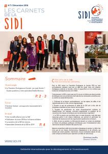 Carnets de la SIDI n° 7 - Dec 2018 (page site)
